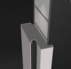 Mauerwerks-Stahlzargen